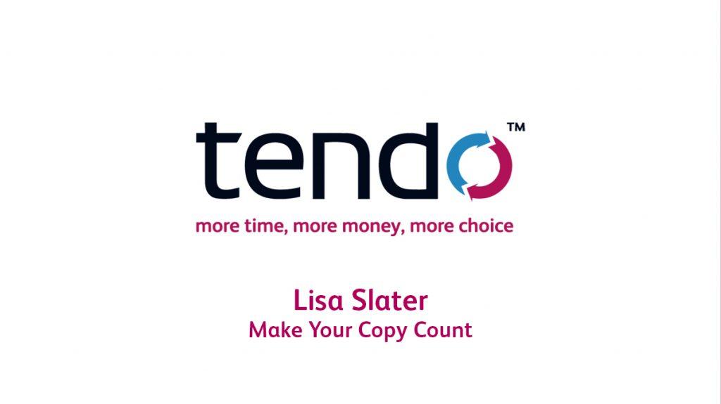 Gary King, Tendo Business Mentoring Testimonial, Lisa Slater