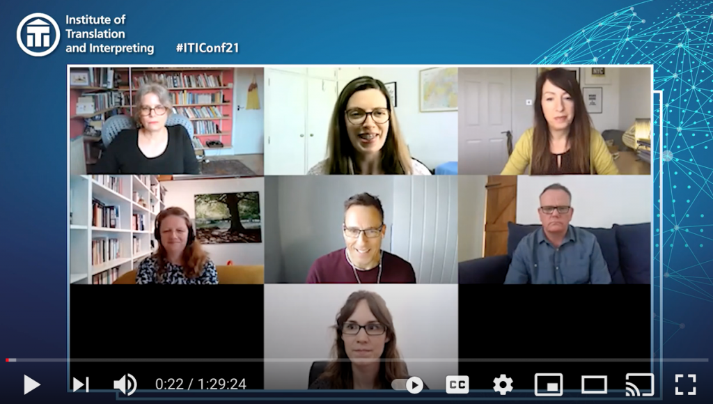 ITI Conference – panel discussion –  Your Freelance Business, May 2021